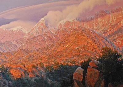 """La Cueva Sunset, East"" by Wilson Hurley"