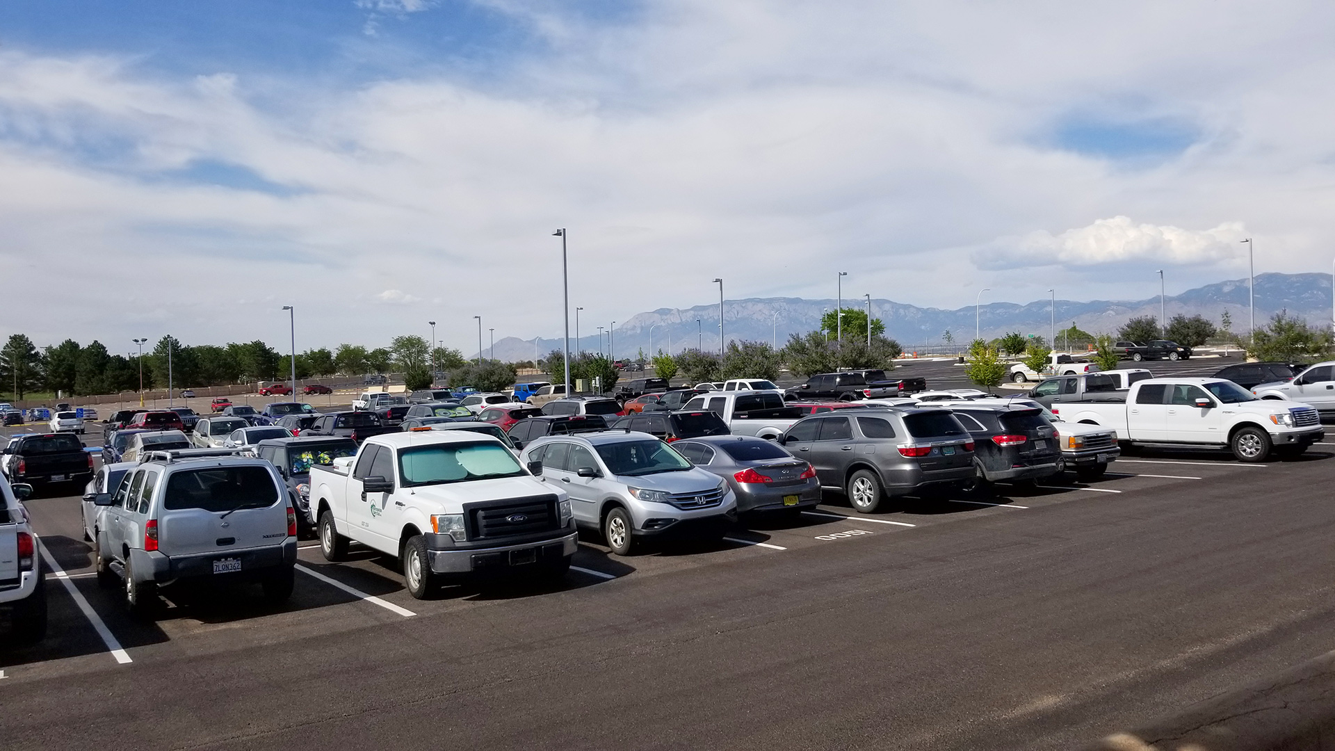 ABQ Sunport - Parking Lot - Basic Economy