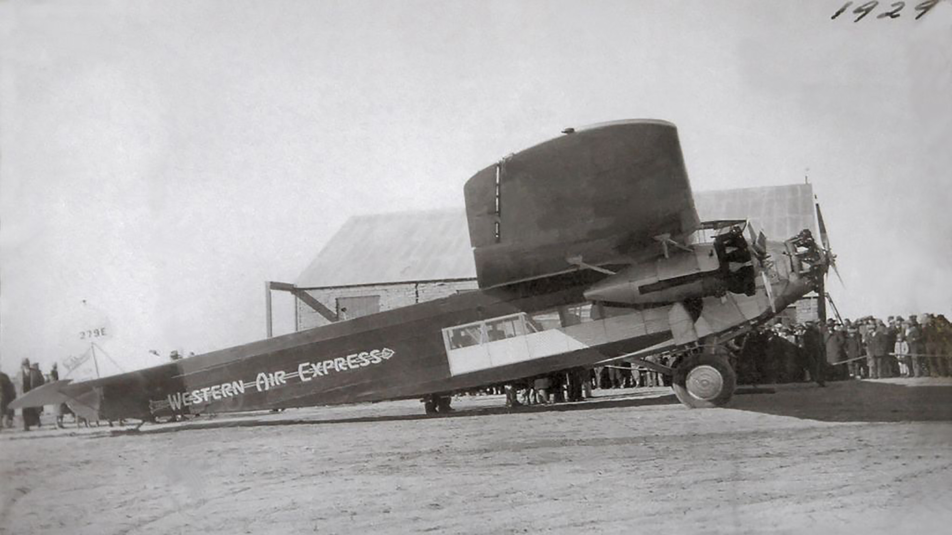 ABQ Sunport - History - 1928 First Flight