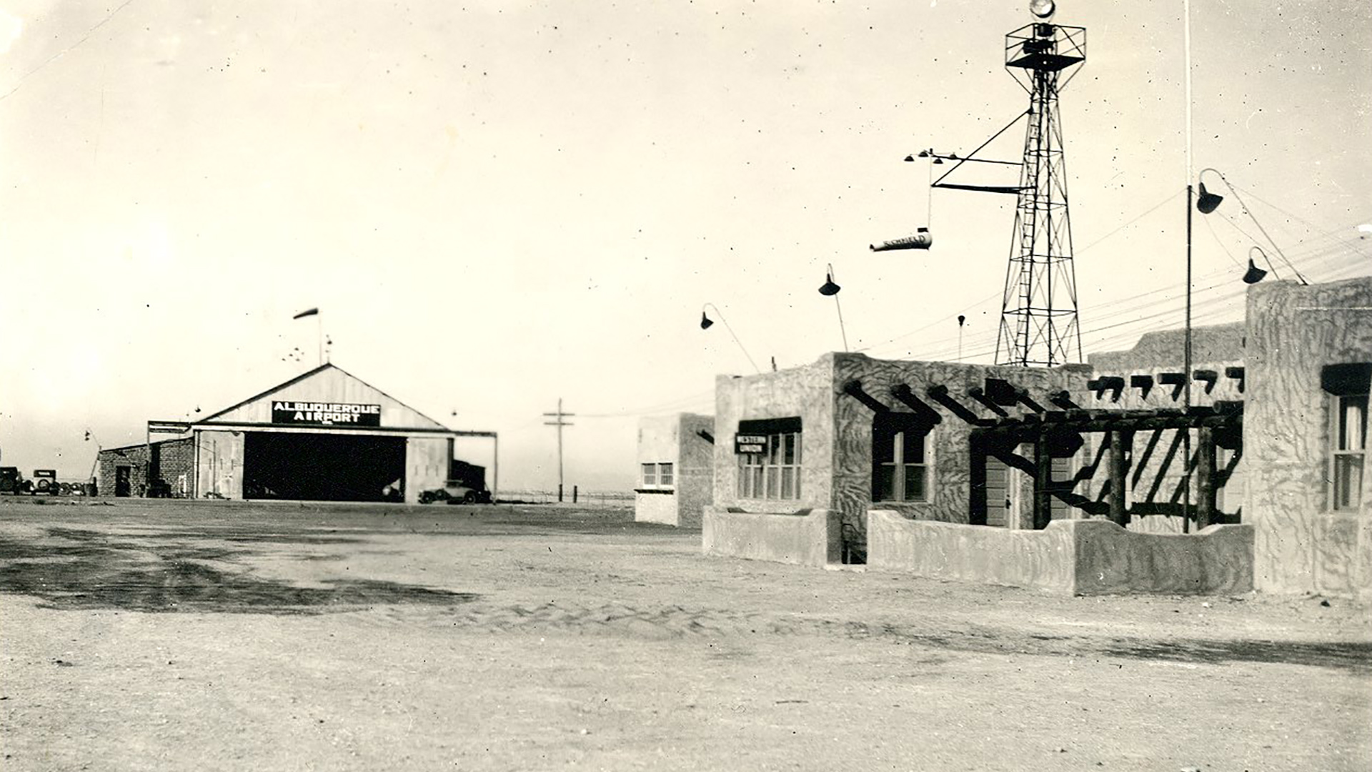 ABQ Sunport - History - 1930s