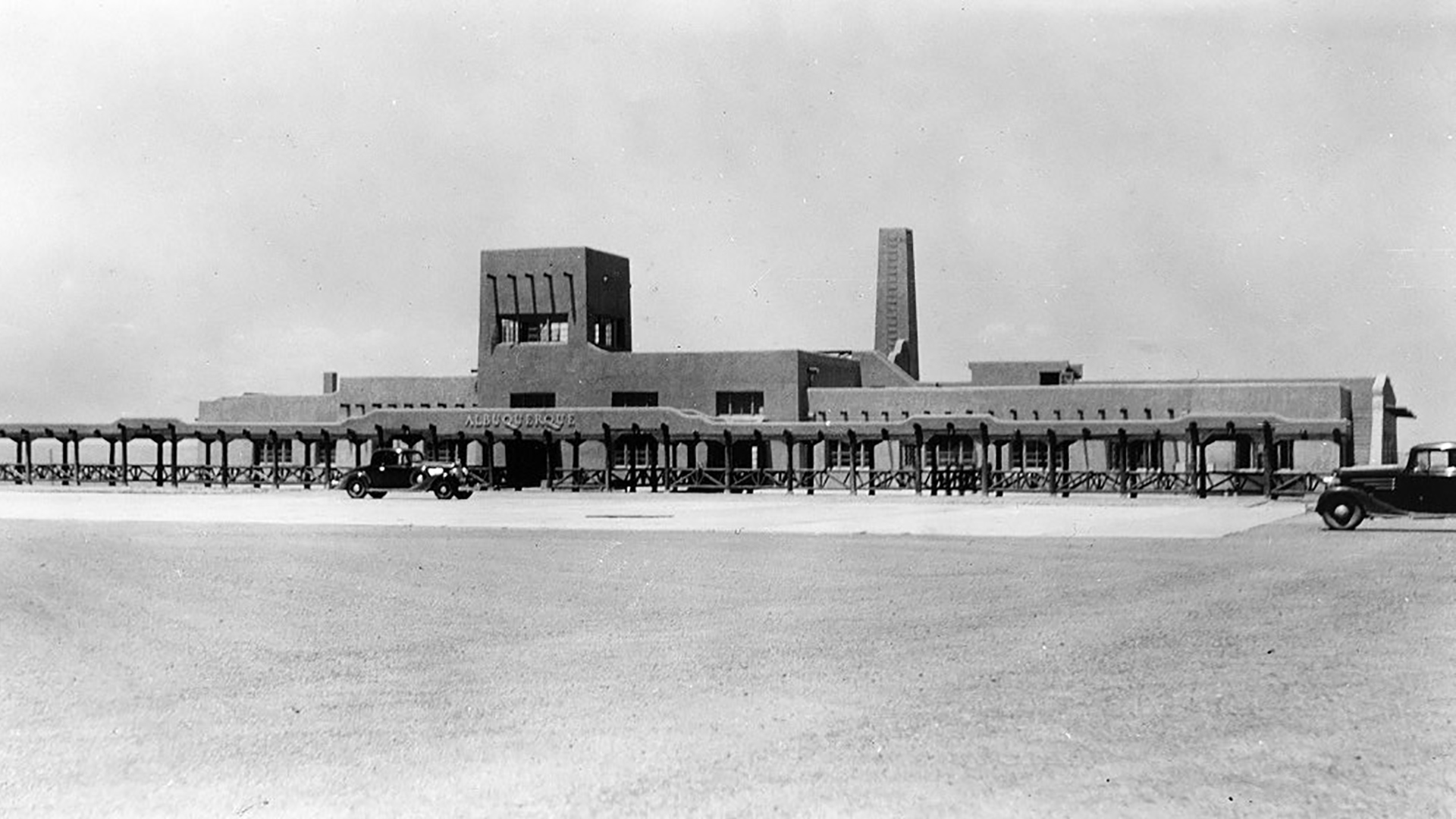 ABQ Sunport - History - 1940s