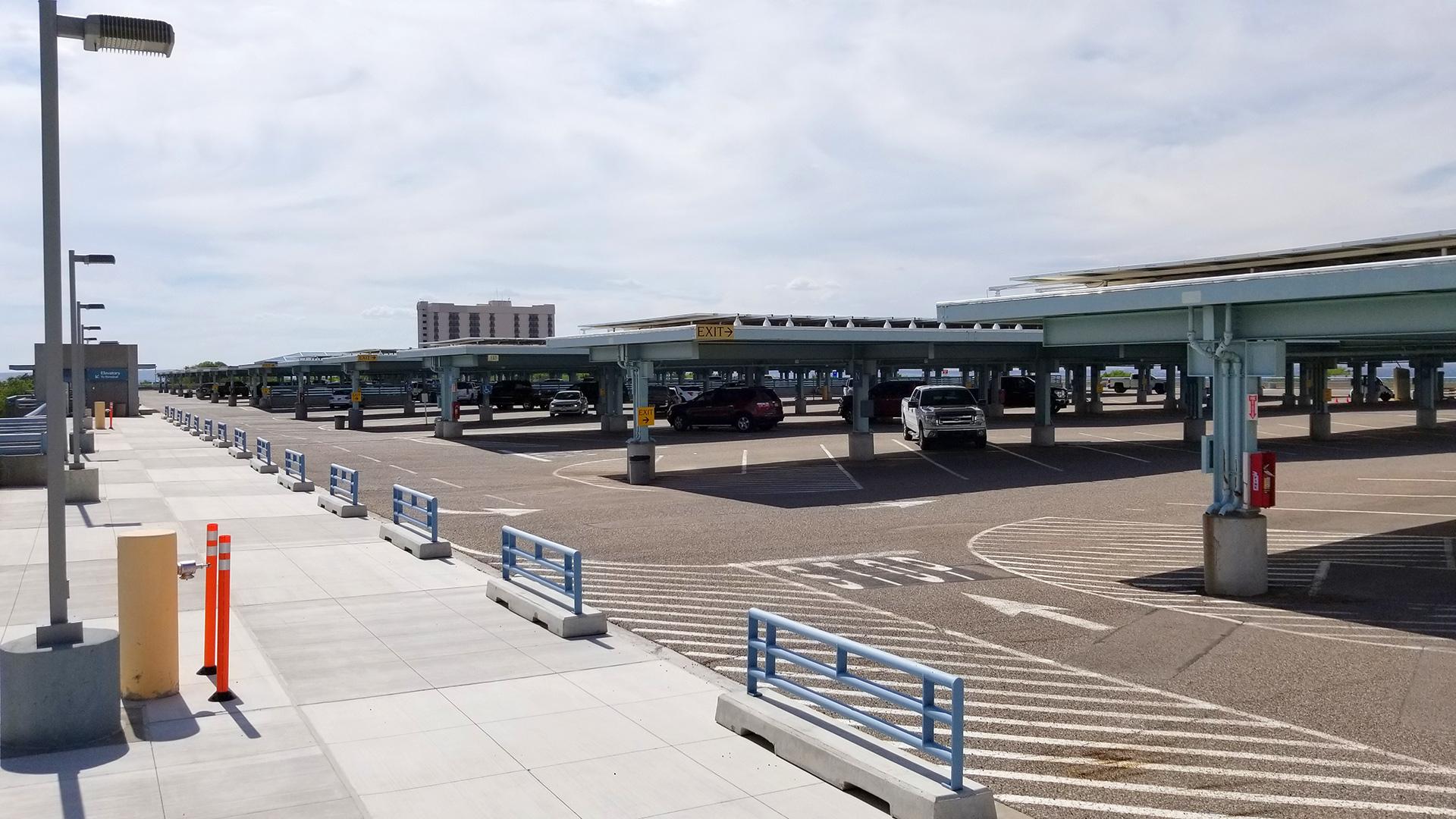 ABQ Sunport Parking Garage