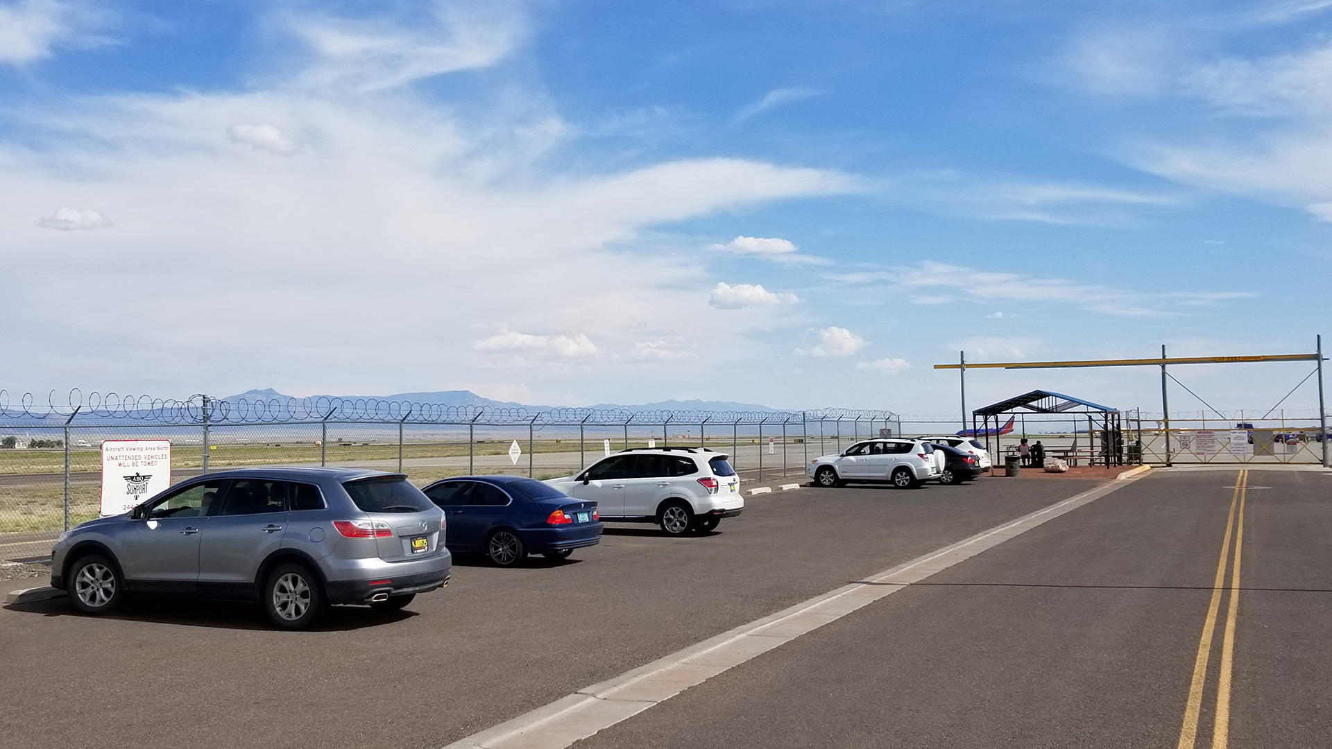 ABQ Sunport - Viewing Area - North