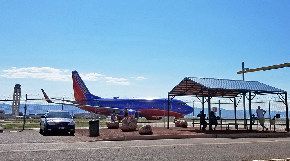 Sunport North Aircraft Viewing Area
