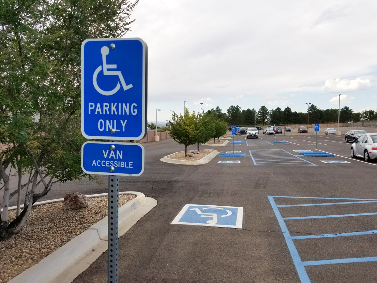 Sunport Accessibility Parking