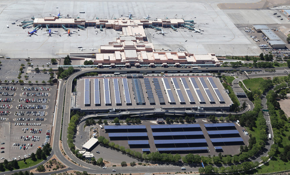 The Albuquerque International Sunport has numerous sustainable and environmental programs.